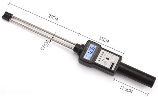 Manual insert moisture Meter for maize mill machine