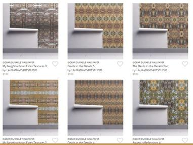 Wallpapers by Laura Davis Art Studio on Roostery