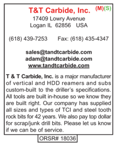 T&T Carbide, Inc., Bits
