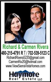 Richard & Carmen Rivera, Realtors, Haymore Real Estate LLC