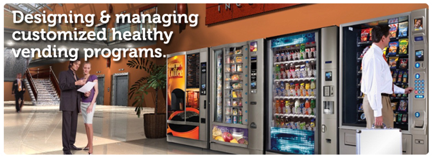 First Class Vending, Office Coffee and Water Refreshment Services, customized healthy vending programs, local company