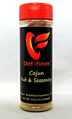 Cajun Seasoning Rub-Chef of the Future-Your Source for Quality Seasoning Rubs
