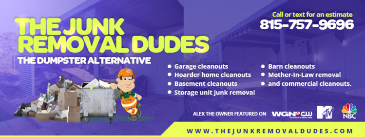 DeKalb County Junk Removal - The Junk Removal Dudes - 815-757-9696