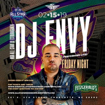 Dj Envy friday night allstar weekend