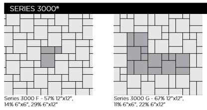 Series 3000 Unilock Paver Patterns