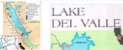 how to fish san pablo lake and del valle fishing map