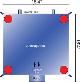 Bounce house diagram