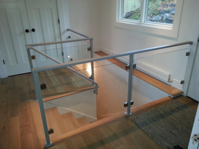 Interior Glass Railing Psoriasisguru Com