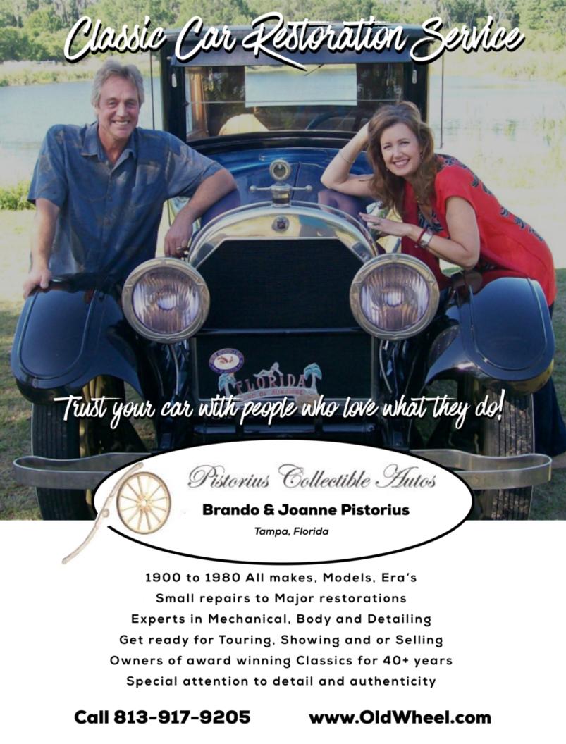 Brando Pistorius - Classic Car Restorations