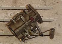 Used carburetor for a 1986 35 hp Force outboard. WE17C 684061, 300-F884061