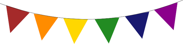 banner of flags, event
