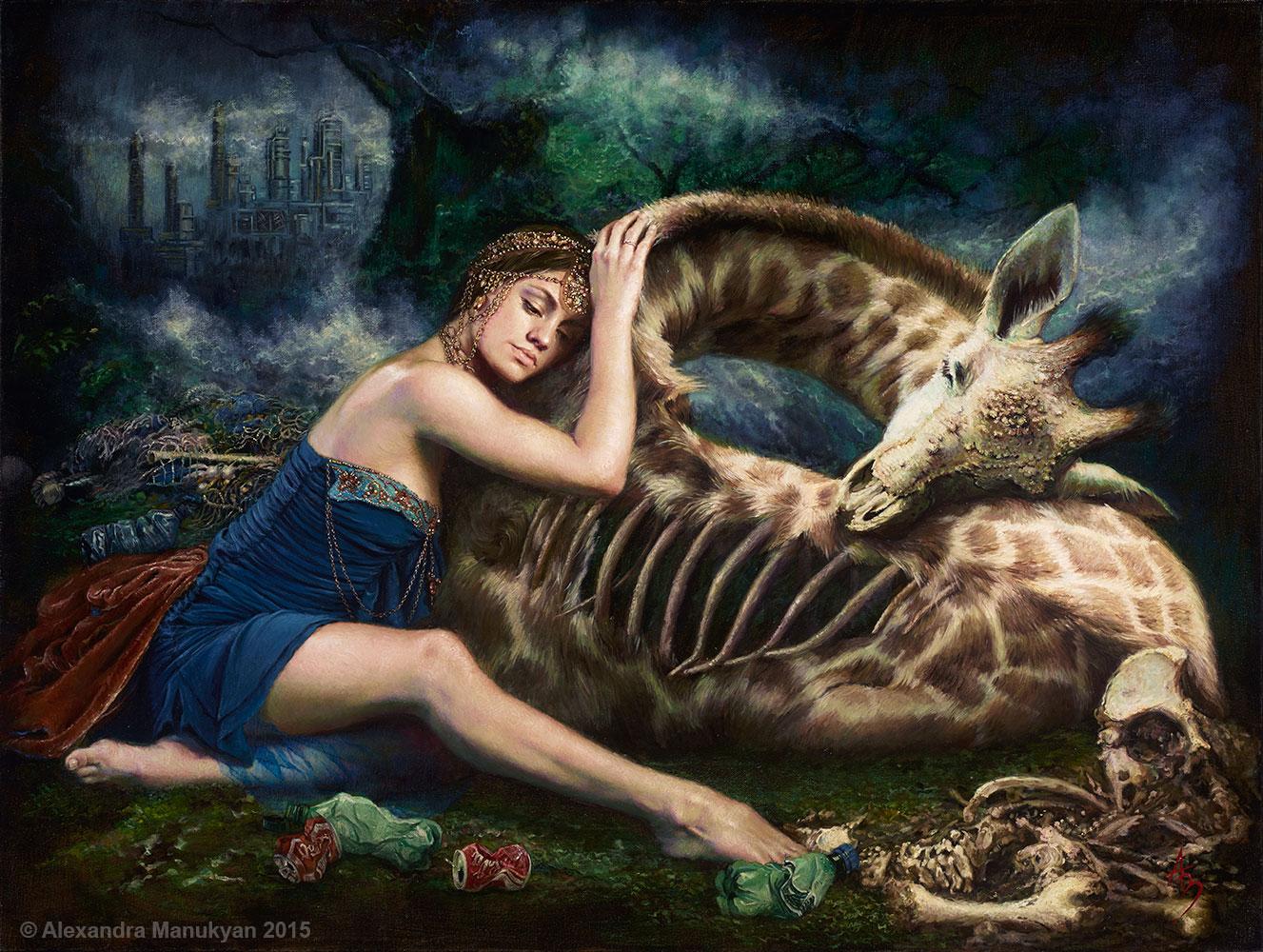 Alexandra Manukyan |Surrealist Painter