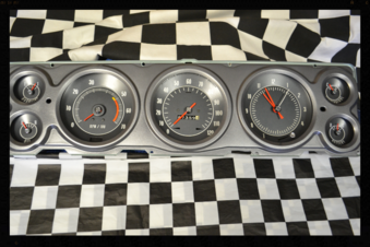 1967 Chevy Impala Tachometer, Speedometer, Fuel, Temperature Gauge, Battery, Oil Gauge