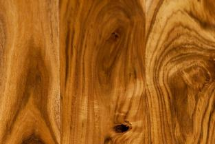 Acacia hardwood flooring, exotic hardwood flooring species; specialty wood floor installation; wood floor with natural swirly and wavy grain lines