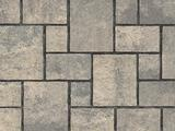 Unilock Concrete Smooth Paver in Thornbury Steel Mountain Color