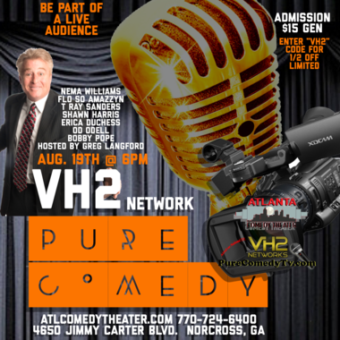 VH2 Live taping comedy Atlanta comedy uptown comedy punchline comedy
