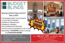 Real Estate Press, Southern Arizona, Budget Blinds Sierra Vista