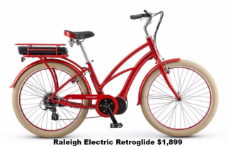 Raleigh Electric Retroglide IE Step Thru