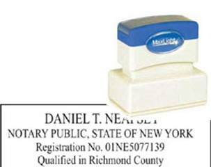 Get New York Notary Stamp Supplies Order