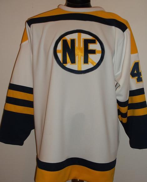 best website 2d745 c62e5 Niagara Falls Flyers 1965 vintage hockey jersey