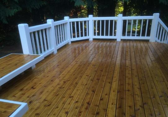 "5/4x5"" Knotty Western Red Cedar Decking for Sale"