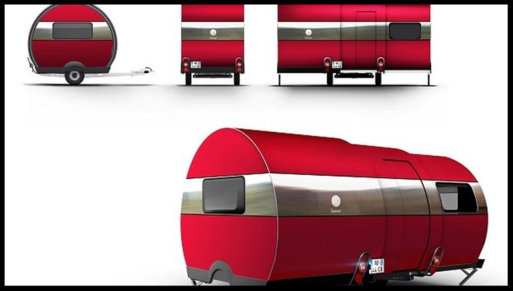 the beauer 3x travel trailer exterior images