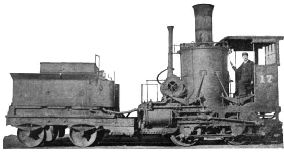 A Baltimore and Ohio Crab, the Mazeppa, built around 1837 and photographed after years of service.