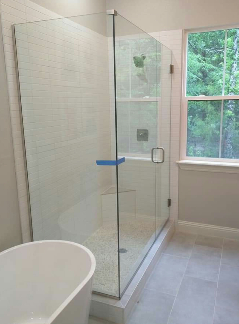 Glass Window Frame Less Shower Mirror T Birds Glass And Mirror