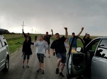 Storm Chasing Tours Guests
