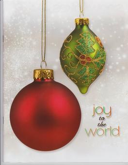 Joy to the World Christmas Fundraiser Catalog
