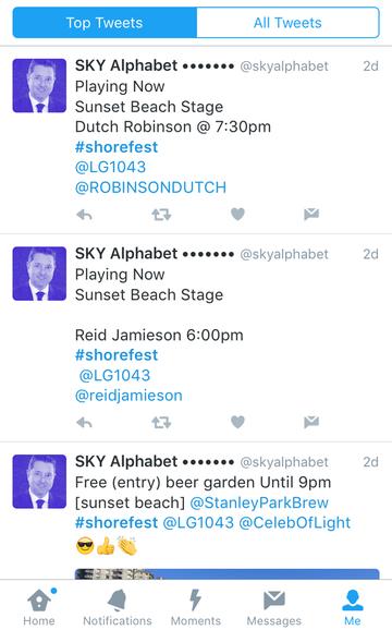 Tweets showing #shorefest bands