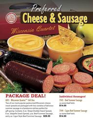 Preferred Cheese and Sausage Fundraiser Brochure