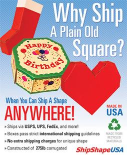 Ship a Shape anywhere with ShipshapeUSA