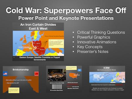 Cold War: Superpowers Face Off PowerPoint