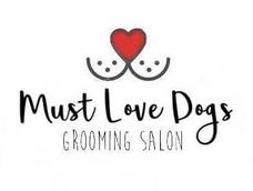 Must Love Dogs Grooming Salon Logo