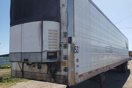 LIFETIME CALIFORNIA COMPLIANT RYPO FILTER on 2007 53x102 UTILITY Trailer w/Carrier Reefer #949
