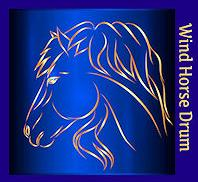 symbol for the Wind Horse Lightning Drum from Thunder Valley Drums https://www.naturalshamandrums.com