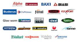 All the different Boiler manufacturers I service and install