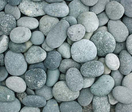 Green Beach Pebble River Rocks