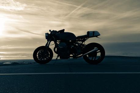 cafe racer motorcycle wallpaper