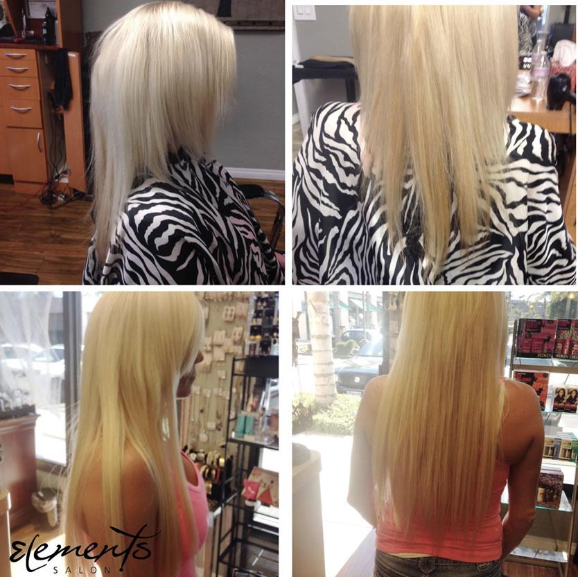 Hair Extensions Elements Salon Escondido Ca San Marcos Ca