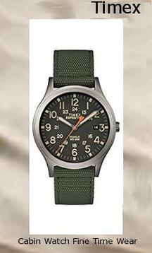 Timex Unisex TW4B13900 Expedition Scout 36 Green/Black Nylon Strap Watch,timex digital watch