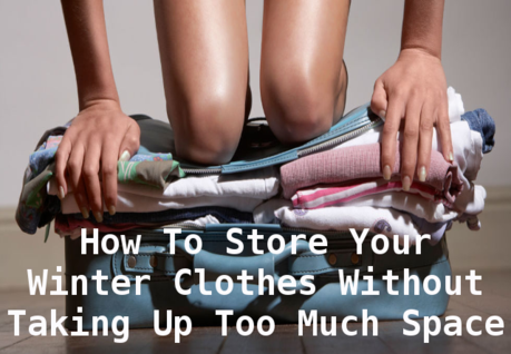 storing your winter clothes