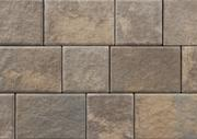 Unilock Driveway Permeable Paver Transition in Sierra Color