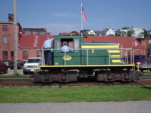 The Maine Narrow Gauge Railroad in Portland, Maine