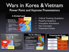 Cold War Wars In Korea & Vietnam History Presentation
