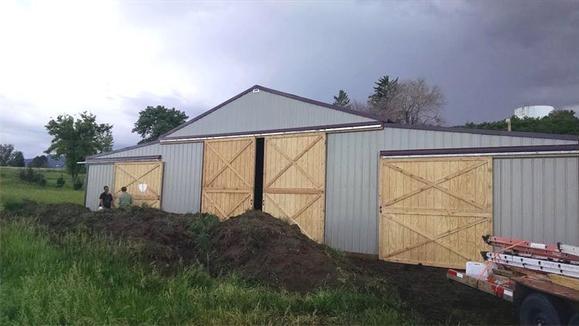 Pole Barn Sliding Door Images Album Losro