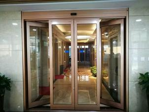 swing out automatic sliding door