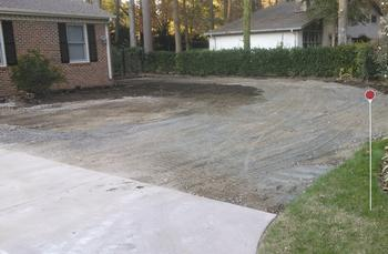 Before our concrete demolition services in Norfolk, VA