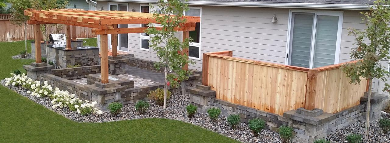Backyard landscaping ideas for colorado : Distinctive terrascapes landscaping landscape design